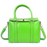 2013 Brown Faux Handbags One Shoulder Casual Bag Fashion Women's Handbag Bags Real Leather,Designers Famous Brand