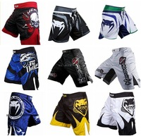 BLACK  MMA Scrapper Fight shorts Big Bird Big Eyes  MMA Shorts Free Shipping
