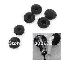 Free shipping+2000pcs/lot Ear Pad Foam Earbud Cover for Headphones Headphone Earphone Earbud Ear Pad earpad Foam Cover