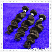 Mix size 3pcs/lot,Peruvian Human Hair,Natural Wave Loose, Virgin Hair Weft, Unprocessed Virgin Hair,Free Shipping,Extension