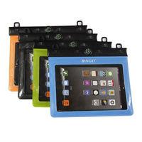 "pvc zip bag waterproof for Mini ipad underwater dry bag for  tablet 7"" 8""  in swimming surfing diving"