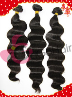 Unprocessed Brazilian Virgin Queen Human Hair Weave Wave 10''-28''  Grade 5A Remy Weft Extentions Free Shipping On sale 3pcs lot