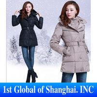 2013 New fashion women Down jacket long coat Free shipping ladies winter warm padded parka hood overcoat Thick clothing