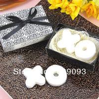 Min Order $10 (mixed order) hot-selling handmake slimming incense bath face mini soap leaves series - - xo shaped free shipping