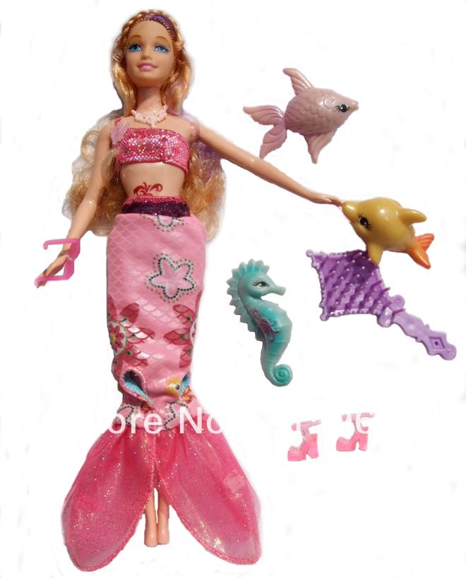 11.5&; the little mermaid doll for girl /children new year christmas