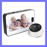 "3.5"" TFT LCD Screen Door Camera Peephole Viewer IR Night Vision Photo Taking"