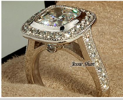 18k Diamond Engagement Ring Diamond Engagement Rings