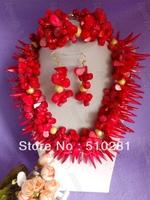 No, 3030 Fashion Coral Jewelry Set