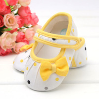 Free shipping (1 pieces /lot)0-1year old 100%cotton Baby Shoes