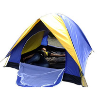 Cheapest  Familiar Whaterproof Tents For Camping Hiking Family Portable 2 Persons UV  Beach Tents