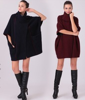 2013 Winter Double Faced Sweater Marten Velvet Overcoat Luxurious Outerwear Reversible Women's Fur Cardigan