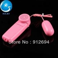 (20pcs/lot) wired vibrator bullet will be audible vibrating egg sex toys adult product EW-013
