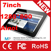 New arrival 7inch Ninol Novo7 Flame /Fire  IPS dual  Core 5-points touch 1280* 800 1.5GHz 1GB/16GB Android 4.0 Tablet PC
