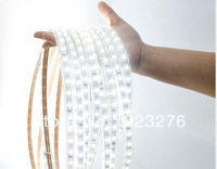 Free Shipping New 5M 5050 300LEDs Cool White LED Strip  Waterproof & AC 220V Power Supply