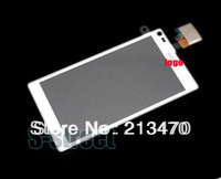 White For Sony FOR Xperia L S36h c2105 c2104 Digitizer Touch Screen original lens +free hongkong shipping