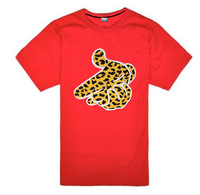 21 Style New Crooks and Castles Letter Leopard Gesture Graphic Men's Fashion Designer Brand Fashion T Shirts