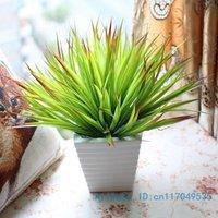 1PCS Bouquet Artificial Green Leaves Plant Home Decoration F123