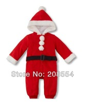 Wholesale#10pcs/lot Newest Baby lovely Christmas dres&long-sleeve chrismas suit,children outerwear,Chrismas clothing sets d11