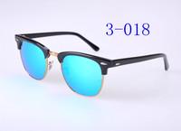 High Quanlity Metal hinge clubmaster Plank black Sunglasses black sun glasses club masters Sunglasses mens  womens glasses