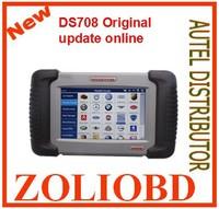 [Authorized Dealer] 2014 100% Original DS708 Autel MaxiDAS DS-708 Auto Diagnostic System scanner DS 708 Free update best price
