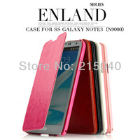 Free Shipping! Original Brand KLD Kalaideng Enland Series Leather Flip Case Stand for Samsung Galaxy Not 3 N9000, SAM-132