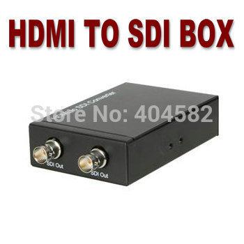 HDMI to SDI converter,3G, 1080P, for HDMI interface, television broadcasting room,large screen television and HDMI monitor(China (Mainland))