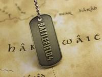 BF4 Battlefield 4 Dog Tag Identity Card Pendant Free Shipping Wholesale