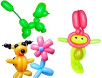 Free Shipping 200pcs/Lot Long Balloons Animal Tying Making DIY Decoration Latex Twist Assorted Party In Stock
