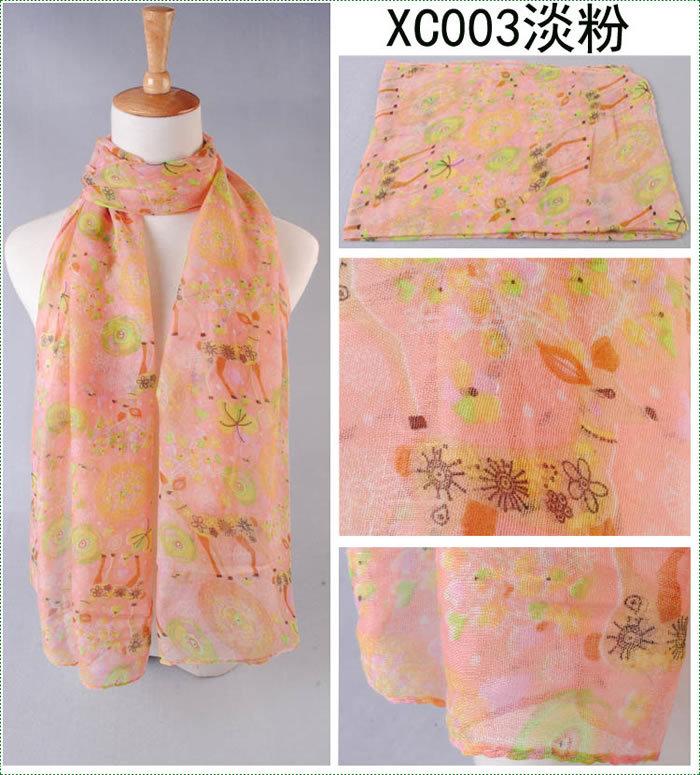 Winter Warm scarf fashion silk scarf From China  free shipping (SC03408)(China (Mainland))