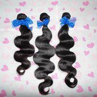 "Top Related free DHL shipping 7A Virgin mongolian wavy hair 12""-28""inch 3 bundles/lot,human hair unprocessed"