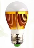 Hot Shell color gold E27 e27 base led 5730smd 5w LED Bulbs light ac85-265V Aluminum LED lamp design Bubble Ball Bulb for home
