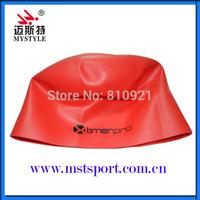 Waterproof silicone unique swim caps