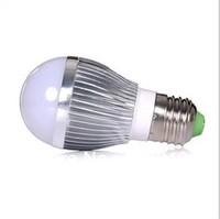 Wholesale Shell color silver E27 e27 base led 3w LED Bulbs light ac85-265V Aluminum LED lamp Bubble Ball Bulb home lighting uk