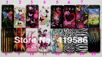 UK US Flag Butterfly Chrysanthemum Plum Flower Heart Zebra Leopard Meteor Hard Plastic Cover for Huawei Ascend Y300 U8833 T8833
