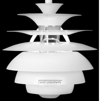 Free Shipping Hot Selling Denmark Louis Poulsen PH Pendant Lamp White By Poul Henningsen  Wholesale