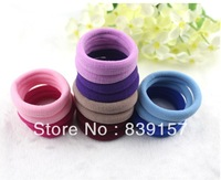 Elastic hair bands hair accessory hair rope  headband brief candy color  cheap price and best quality