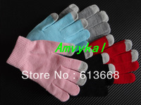1200pairs 2400pcs Fashion Winter Warm Women Men Touch Screen Gloves Touch Mitten Gloves for Mobile cell phone tablet Capacitive