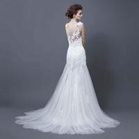 2015 bride wedding elegant sweet princess wedding dress tube top type designing dresses