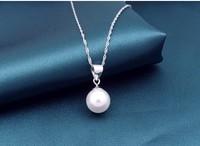 perolas pure silver female brief short simple design fashion necklace lover pendant jewelry perla Necklace perolas Perla jewelry