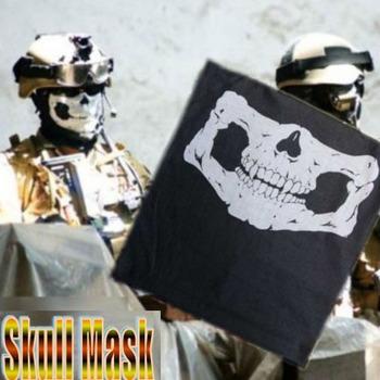 Hot Headband And Skull Multi Bandana Bike Motorcycle Helmet FACE MASK Paintball Mask For CS Ski Sport Free Shipping