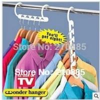 960pcs/lot (8pcs/pack) Free shipping Space Saver Wonder Magic Hanger Closet Organizer ,wonder hanger as seen on TV