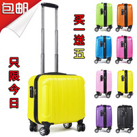 Free Shipping trolley luggage travel bags  hard case Luggage for women and men 17 inch Airport Box news  suitcase