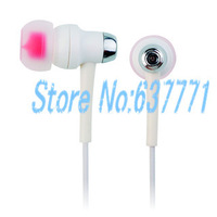 Sport  Earphone White Headphone 1.2M Headset