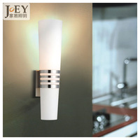 wall lamp  modern art living  Sconces with Milky white Glass for  wall mount cabinet wall lighting fixture Hotel rooms