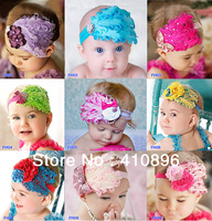 Beautiful Feather Headband hairband Baby Girls headbands/' hair accessories Baby Christmas gift