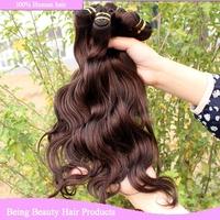 "grade AAAA good quality brazilian body wave hair extension 4pcs lot cheap brazilian hair weave bundles color 2# 14""-30"""