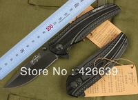 Free shipping Elf Monkey 089 Survival Pocket Knives Hunting Folding Knife 440 56HRC aluminum Handle