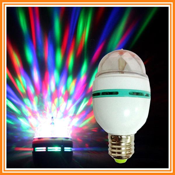3w rgb led mini party light led bubble ball bulb dance party lamp. Black Bedroom Furniture Sets. Home Design Ideas