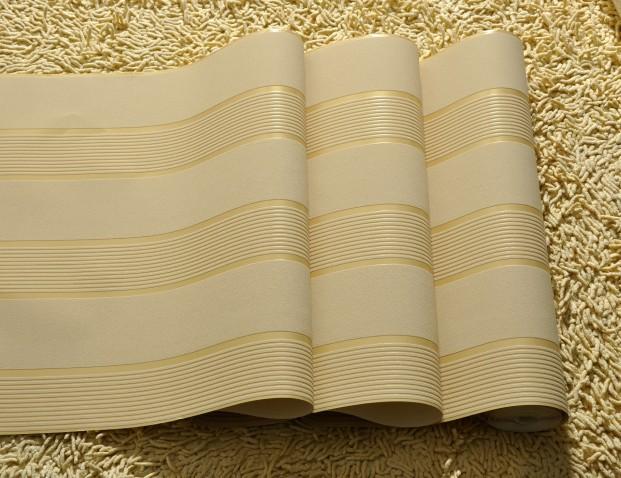 Achetez en gros bande grise wallpaper en ligne des for Papier peint raye gris et blanc