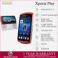 "Sony r800i Ericsson Xperia PLAY Zli R800i 3G WIFI GPS 5.0MP 4.0""  PSP Android 2.3 Unlocked Smart Phone.Factory Refurbished"